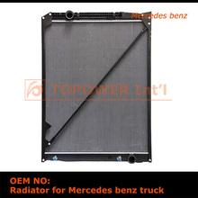 alibaba italian high quality low price auto heat radiator for Mercedes Benz trucks