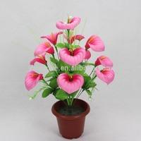 Yiwu Aimee supplies wholesale 12heads artificial calla lily bulbs(AM-ZP018)