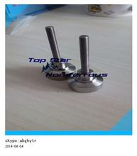 10mm gr2 titanium dabber nails- titanium nail carb with 6 holespolish cap wholesale