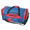 Salable eco-friendly jeans round shape shoulder sports travel bag