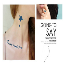 2013 new temporary tattoo stickers - for body art painting - mixed designs