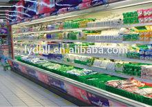 upright display cooler for fruit,vegetable,beverage,milk