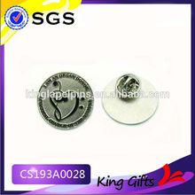 css lapel pin engraving pin badge free sample metal lapel pin