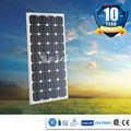 100w 100kw monocristalino panel solar precio, ce, iso9001, tuv aprobado