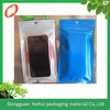 custom one side clear bags for cell phone packing