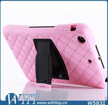 2 in 1 Hybrid Case for iPad Air Silicone+ PC Starry Crystal Case for iPad 5