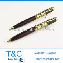 new wooden pen, Recycling plastic ball pen TC-W003b