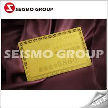 standard metal credit card metal brand warranty card
