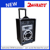 DASHAYU advance digitals portable buletoth replace the battery speaker with usb,sd,fm,remote control,mic input