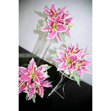 Acrylic Wedding flower Display Holder Lucite wedding cake display stands
