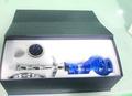 2014 luxury design cigarette électronique, Gros verre argent shisha narguilé bouteille
