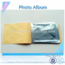 Cheap 4x6 inches PVC Plastic Photo Album Book