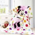mantas de franela en textiles para el hogar