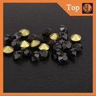 hot sale transparent square rhinestone 10mm machine cut made in china for dress