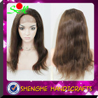 Beautiful super wave brazilian hair full lace wig for black woman