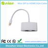 Thunderbolt Mini Display Port DP To HDMI VGA Adapter Cable For 15 17 Mac Book US