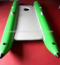 Tres cámaras de multi- función barco inflable para la venta de yates de motor para la venta