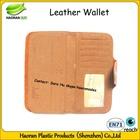 PU ladies woman leather wallet