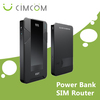 3g mifi modem router with power bank 12000mAh --- V8W