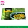 Fancy retial package colorful printed food plastic package for crispy steamed bun