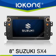 "factory 8"" HD Touch screen suzuki sx4 autoradio with TMC, camera, mic, dvb-t"