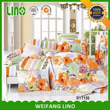 China supplier,black silk duvet covers/one direction bedding set/100% cotton printed bedding set