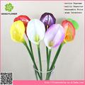 china flor artificial dedicat calla lily con flor de la pu para la admiración