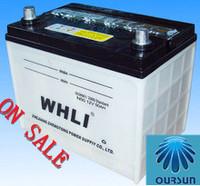 12V 50AH DIN50 N60 super power dry car batteries