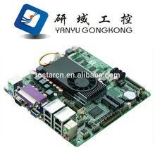 M847_D102 Mini Itx industrial motherboard Intel 1037U /DC 12V / 2*VGA Game Motherboards /9-24Voltage industrial Mini ITX