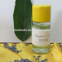 100% distilled natural plant essential oil Mugwort oil
