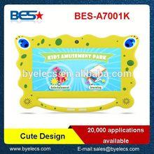 Beautiful design G sensor 800*480 dual core best tablet pc 2011