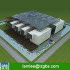 Luxury Prefabricated Modular Steel Villa House for Sale