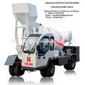 1m3 4x4 móvel auto carregamento betoneira 40km/h velocidade de condução, 7m raio de giro, 16% capacidade da classe para a venda