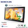 Plastic case wall mount large screen ipad shape digital display