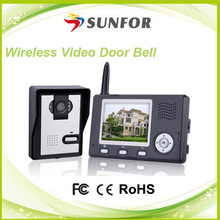 Best quality Factory price video recording wireless door bell mp3