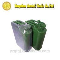 20l colored metal spout fuel oil tanks for sale
