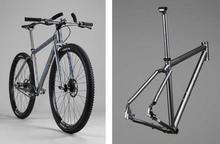 Classic Road Titanium Bicycle Frame