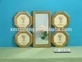 style vintage couleur or et en argent faits à la main miroir avec cadre photo