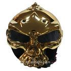 vintage motorcycle /skull helmet monstrous helmet