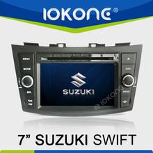 "factory 7"" HD Touch screen suzuki swift car dvd gps with TMC, camera, mic, dvb-t"
