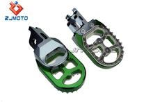 Pedal Motorcycle CNC Aluminum Foot Pedal Mopeds Suitable For Kawasaki Honda Suzuki