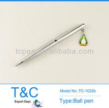 2014 High quality slim metal ball pen/popular hotel pen TC-1023b