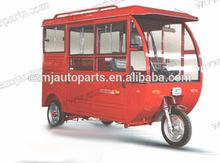 Passenger Durable Adult Energy-saving 3 Wheel Electric Pedicab Rickshaw for Sale