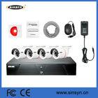 CCTV security Camera system outdoor 4ch wifi nvr kits cctv kit