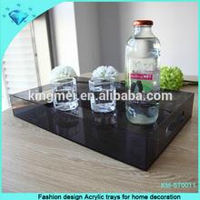Fashion design Acrylic trays for home decoration