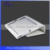 Soft feeling white Noble pu crocodile leather case for ipad
