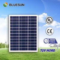 Bluesun factory ship cheap CIF price 45w poly solar panel
