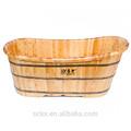 clásico de madera de la bañera de spa china bañera normal