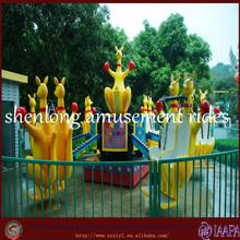 Rotating and jumping rides, kangroo rides, jumping kangroo for theme park rides