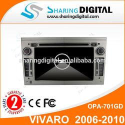 "6.2"" Support Bluetooth RDS SWC 2 din Autoradio for Opel VIVARO 2006-2010"